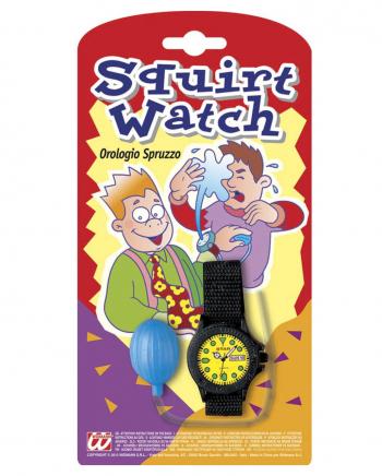 Spritzige Armbanduhr Scherzartikel