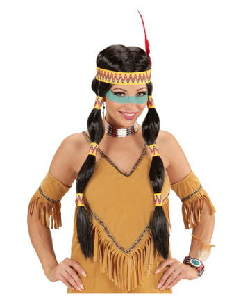 Squaw Indianerperücke