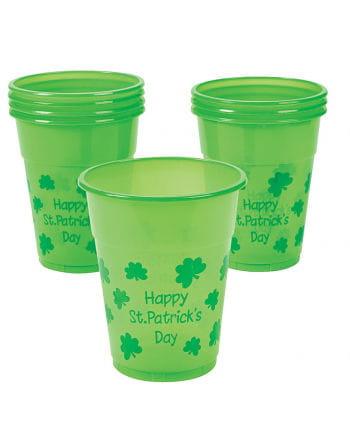 Happy St. Patrick's Day Becher 25 Stück