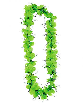 St. Patrick`s Day Flower Necklace