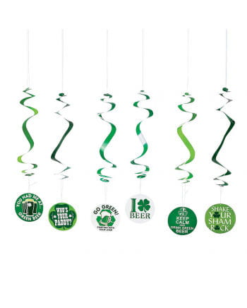 St.Patrick`s Day hanging garland