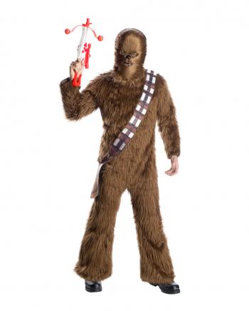 Chewbacca Kunstfell Kostüm für Erwachsene