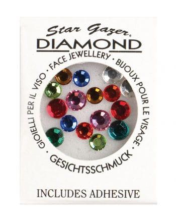 Stargazer Face Diamonds Coloured