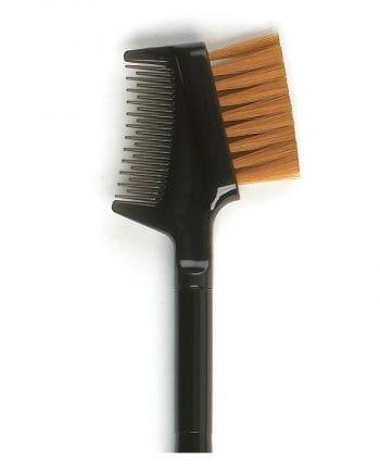 Stargazer eyelash comb with brush