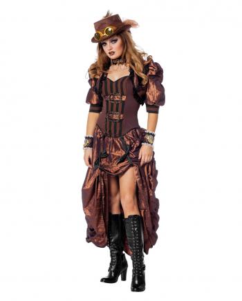 Deluxe Steampunk Frauen Kostüm