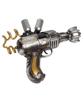 Laser Pistole im Steampunk Look