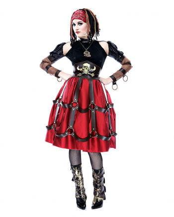Steampunk Piraten Maid Kostüm M