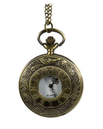 Steampunk Pocket Watch With Chain