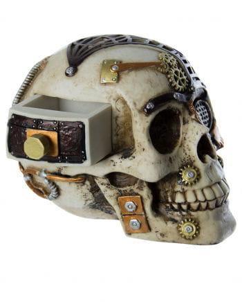 Steampunk Skull With Secret Pocket