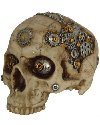 Steampunk Skull With Gears