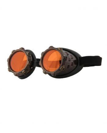 Steampunk sunglasses Aviator copper