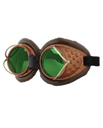 Pilotenbrille Steampunk mit Bügel
