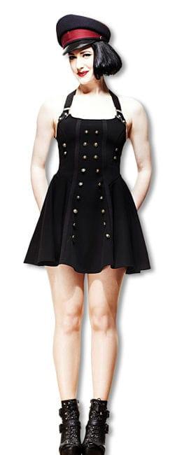Steampunk Kleid im Uniform Look