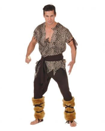 Premium Kostüm Steinzeit Jäger Plus Size