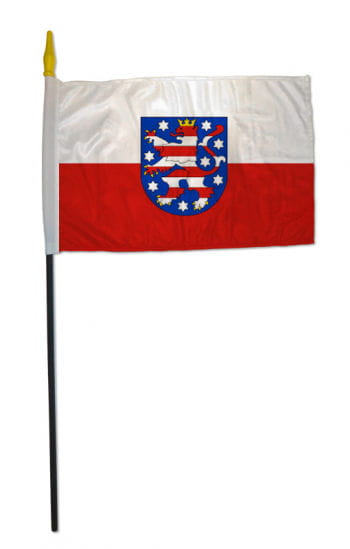 Stock flag state of Thuringia