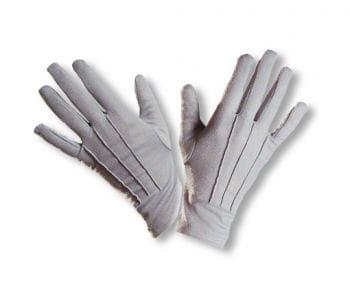 Fabric glove gray