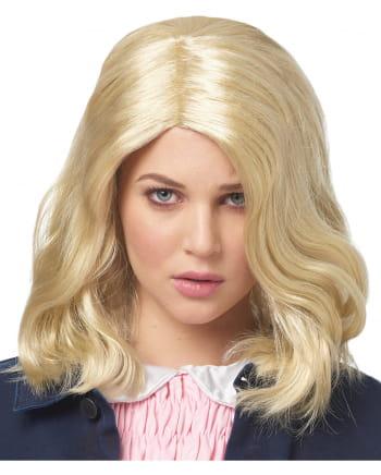 Blonde Strange Girl Perücke