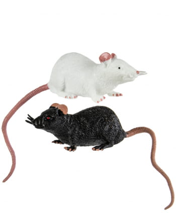 Stretch Rat 23 Cm - Black / White
