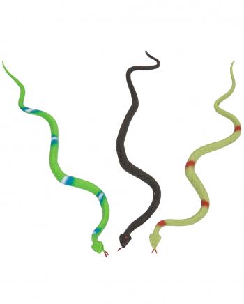 Gummi Schlange 28cm versch. Farben