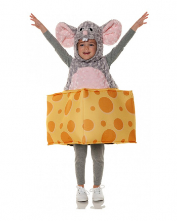 Cute Mouse With Cheese Toddler Costume