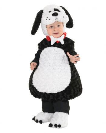 Bello Hundekostüm für Kinder schwarz-weiß