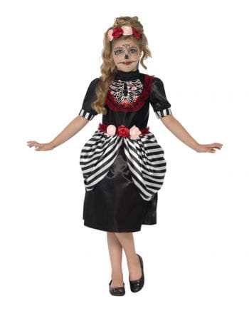 Sugar Skull Kids Costume