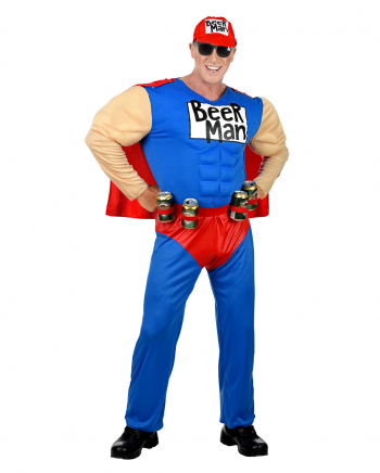 Superbeer Man Kostüm