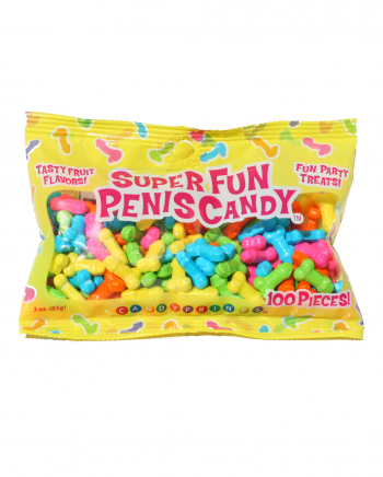 Super Fun Penis Süßigkeiten Tüte 100 Stück