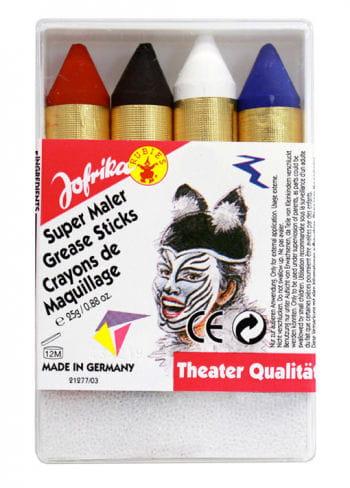 Super Maler Make up Stifte Schmink Set