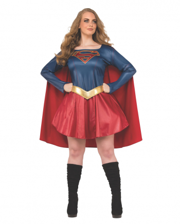 Supergirl Frauenkostüm Plus Size