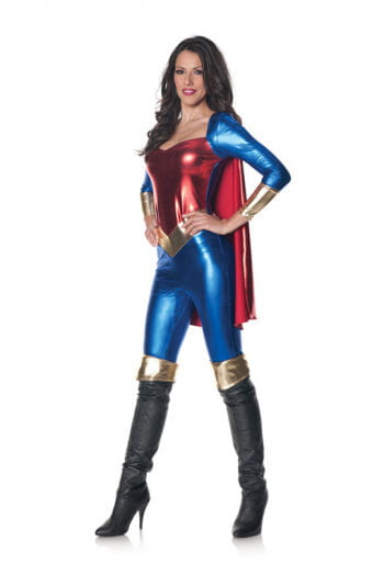 Super Hero Jumpsuit XL