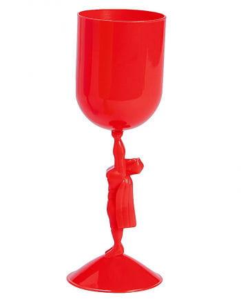 Superhero Goblet red