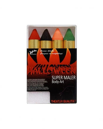Herbstfarbene Super Maler Make up Stifte