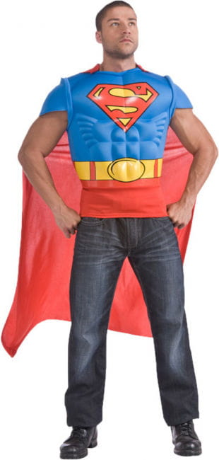 Muskelshirt Superman