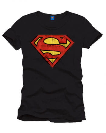 Superman T-Shirt Vintage Logo