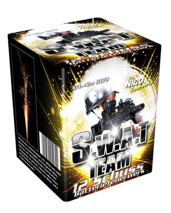 SWAT Team Batteries Fireworks 12 shots