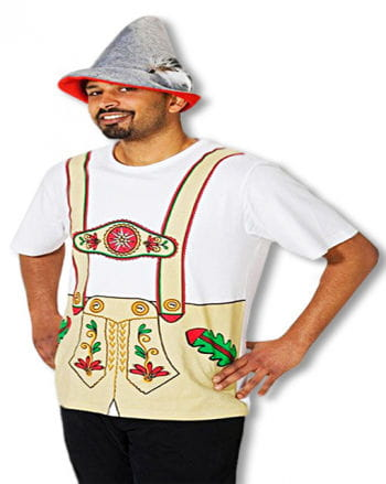 Lederhosen T-Shirt in XL