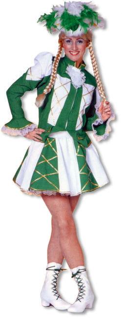 Tanzmariechen Costume green