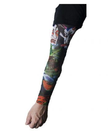 Tattoo Ärmel mit asiatischen Motiven