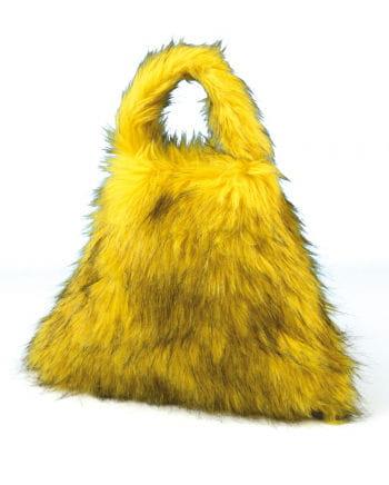 Rave Felltasche gelb/schwarz