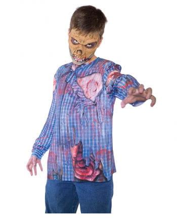 Zombie Shirt mit Realistic Print