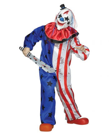 Amerika Clown Kinderkostüm