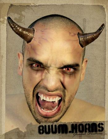 Teufels Hörner schwarz