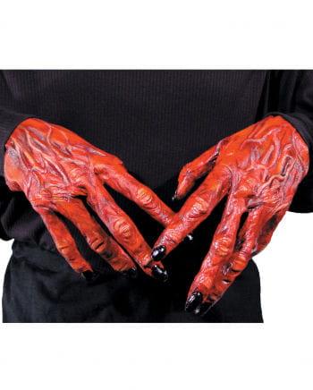 Teufelshandschuhe aus Latex