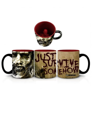 The Walking Dead Zombie Tasse Survive