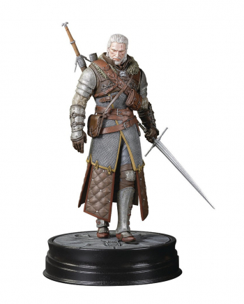 The Witcher 3 Geralt Grandmaster Ursine Figur 24cm