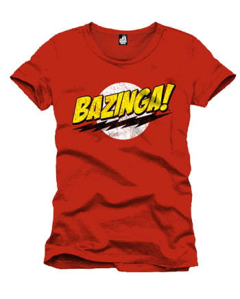The Big Bang Theory Bazinga T-Shirt