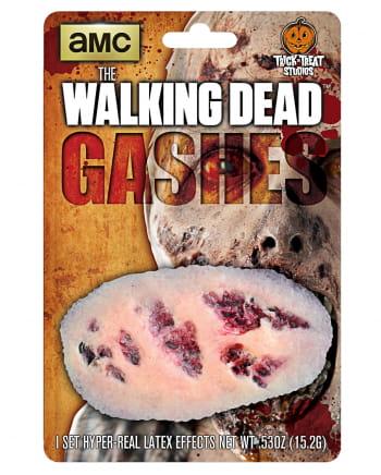The Walking Dead Zombie Wunden Set