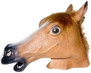 Tier Maske Pferd braun
