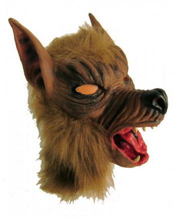 Wolf Maske aus Latex